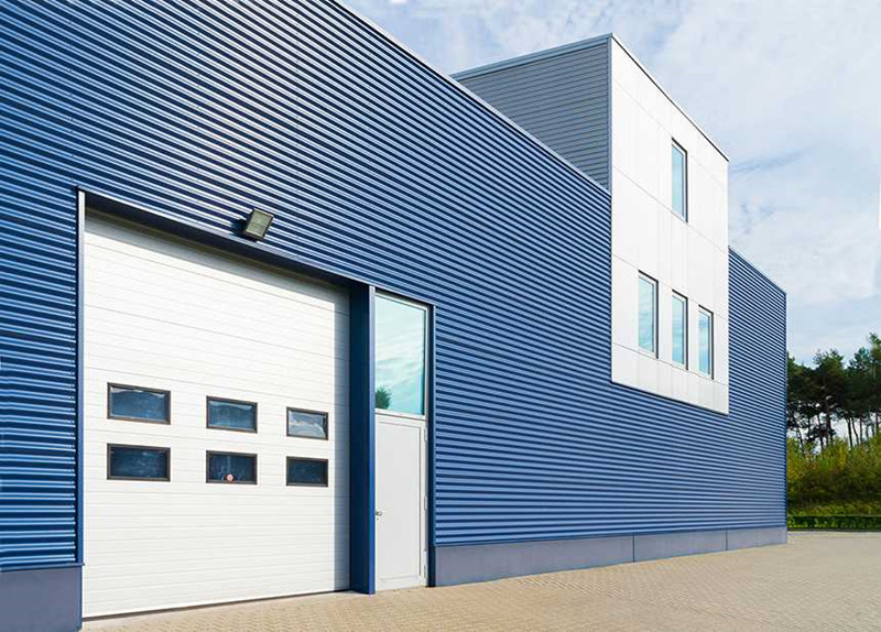Profiled Steel Sheets for Wall Cladding System